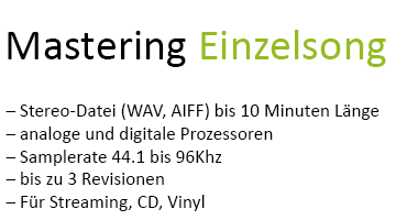 Mastering Einzelsong
