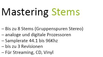 Mastering Stems